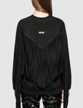 MSGM Fringed Texas Sweatshirt Picture