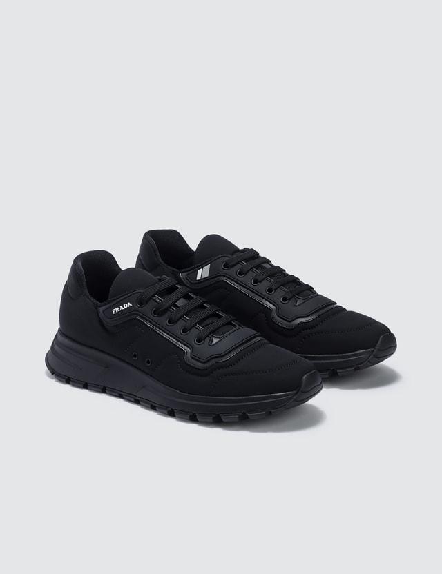 Prada Gabardine Soft Sneaker