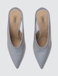 Yeezy Mule Pump In Reflective Fabric 70mm Heel