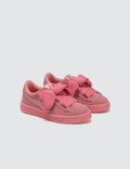 Puma Suede Heart Sneaker PS Pink Girls