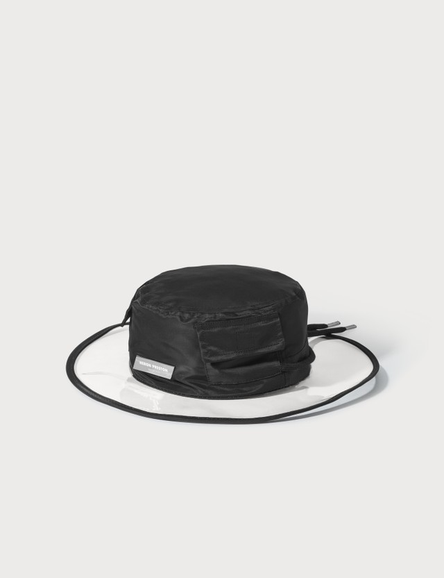 Heron Preston Clear Brim Sun Hat