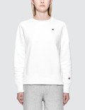 Champion Reverse Weave Small Logo Sweatshirt Picture