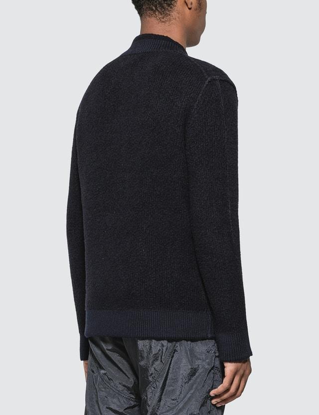 Stone Island Thick Knit Sweater