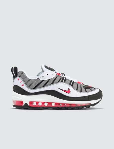 나이키 우먼스 에어맥스 98 - 블랙 레드 그레이 Nike Air Max 98, AH6799-104