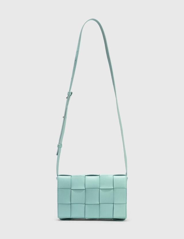 Bottega Veneta Cassette Bag Spearmint-silver-s.g Women