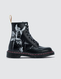 Dr. Martens 1460 Sxp Black Greasy & Black Backhand Picture