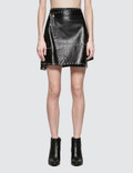 Helmut Lang Studded Leather Skirt Picture