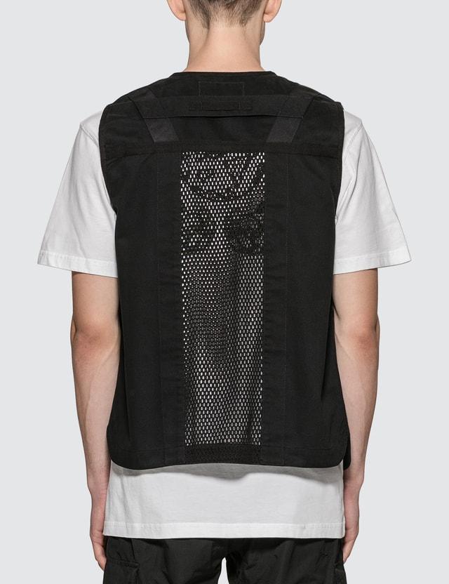 Maharishi Scrim Net Organic Cargo Vest
