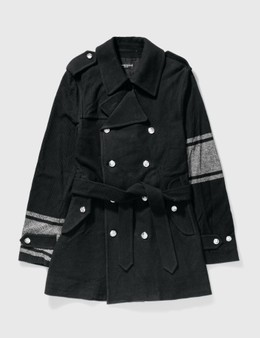 Mastermind Japan Mastermind Japan Double Breast With Silver Glitter Trench Coat