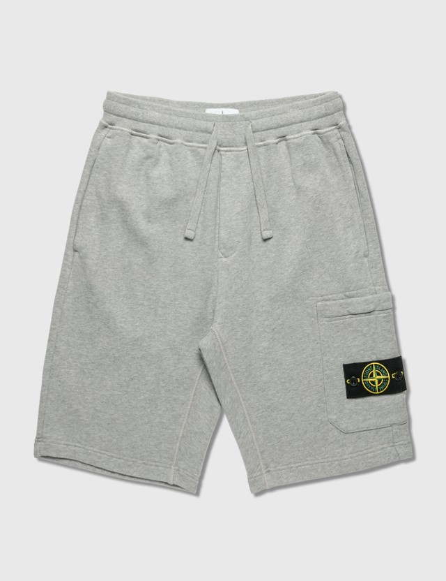 Stone Island Classic Sweat Shorts Grey Men