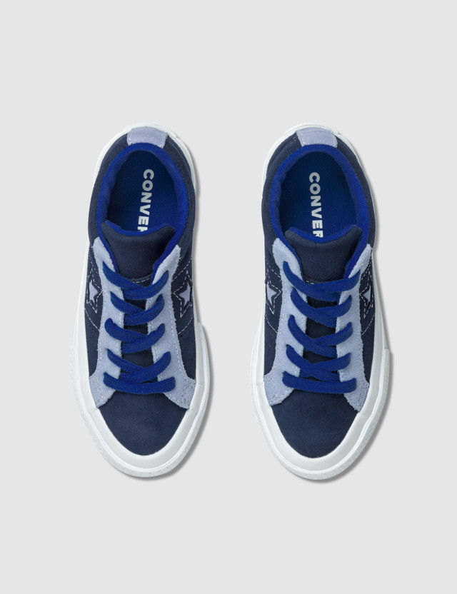 Converse One Star Youth Eclipse/twilight Pulse/hyper Royal Kids