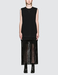MM6 Maison Margiela Fringe Sleeveless Sweatshirt Picture