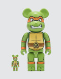 Medicom Toy 100% & 400% Michelangelo Bearbrick Set Picutre
