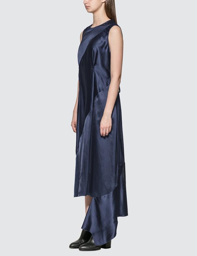 Loewe Sleeveless Satin Dress
