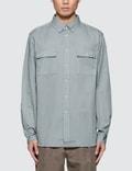Saturdays Nyc Angus Broken Twill L/S Shirt Picture