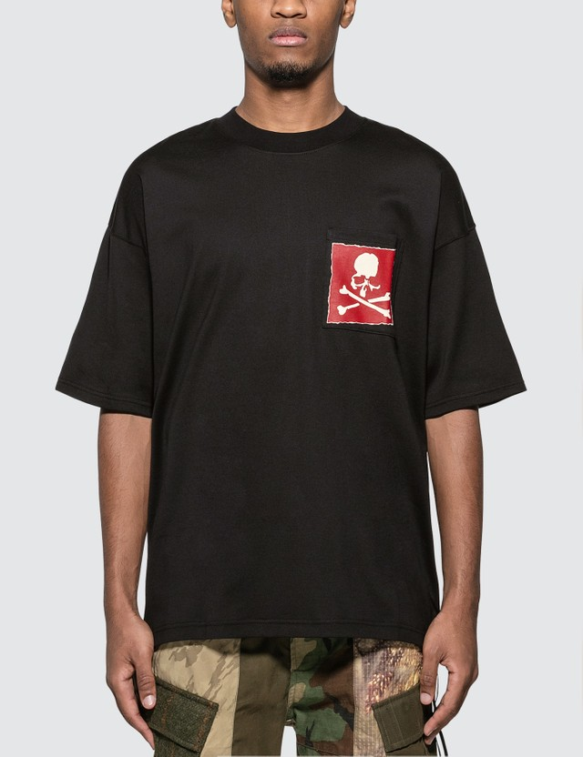Mastermind World Logo Print Pocket T-Shirt