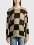 TheOpen Product Chessboard Check Sweater Picture