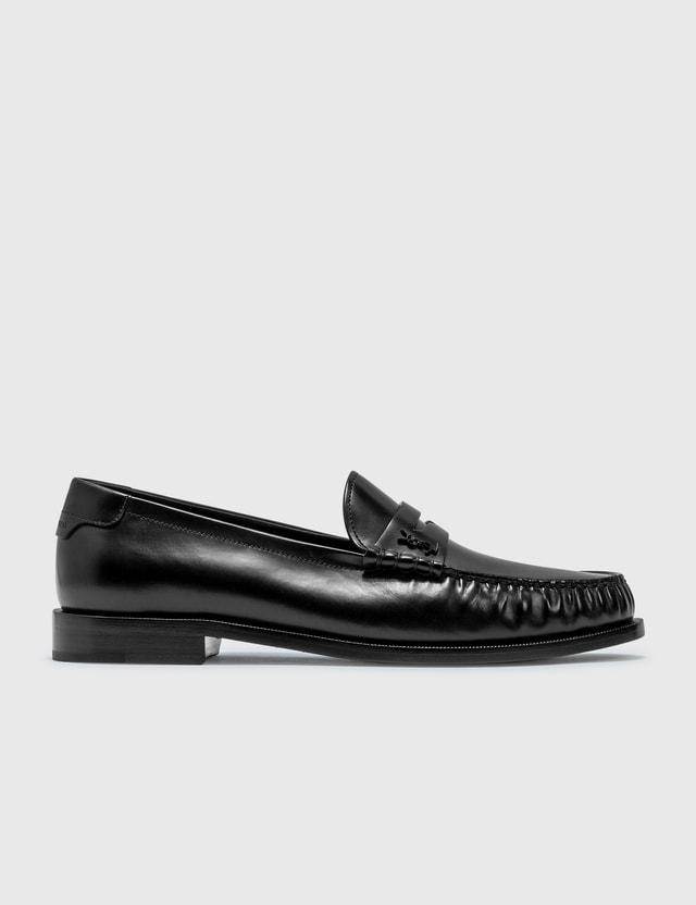 Saint Laurent Monogram Loafer Nero Men