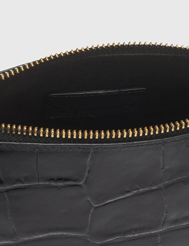 Staud Croc Embossed Calf Mini Shirley Bag