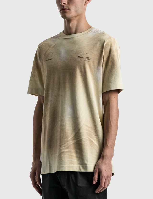 1017 ALYX 9SM Printed Double Logo T-shirt Bone Men
