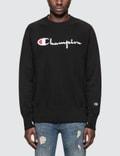 Champion Reverse Weave Script Logo Sweatshirt 사진