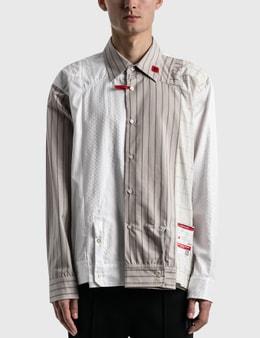 Maison Mihara Yasuhiro Sleeves Docking Shirts