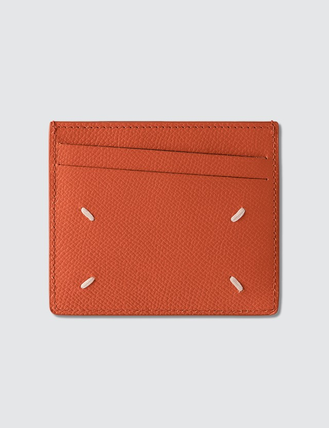 Maison Margiela Grain Leather Card Holder