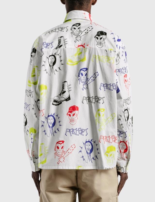 Rassvet All-over Graphic Shirt White Men