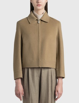Nothing Written Cropped Wool Jacket