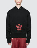 Helmut Lang In Lang We Trust Hoodie Picture
