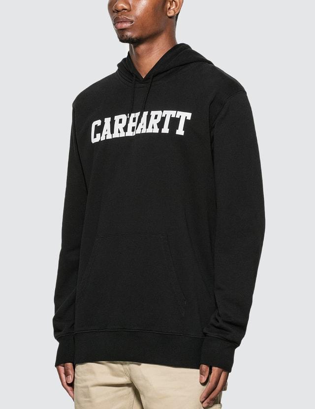 Carhartt Work In Progress College Logo Hoodie