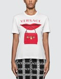 Versace Lip Bag Print T-shirt Picture