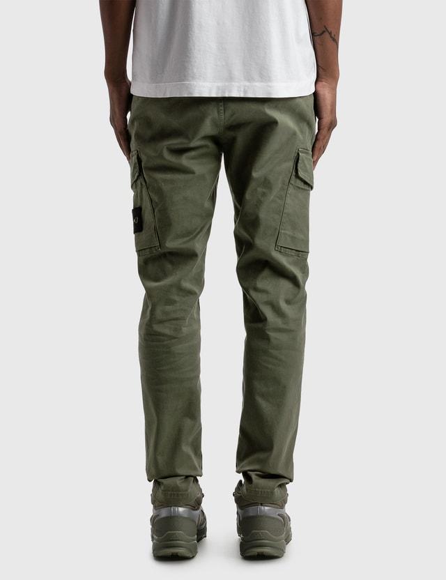 Stone Island Slim Fit Cargo Pants Sage Men