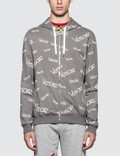 Versace Font Monogram Printed Zip Up Hoodie Picutre