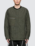 White Mountaineering Primaloft Quilted No Collar Jacket Picture