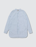 Fear of God Fear Of God Ssense Exclusive Blue Mandarin Oxford Shirt Picutre