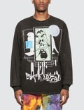Brain Dead Shriek Of The Falcon Long Sleeve T-Shirt Picture