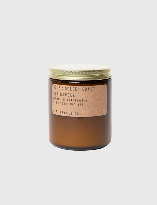 P.F. Candle Co. Golden Coast Mini Soy Candle N/a Unisex