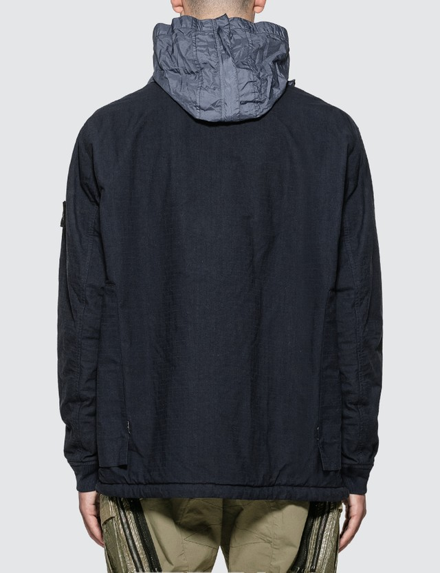 Stone Island Shadow Project Frag Collar Field Jacket With Stowable Split Hood