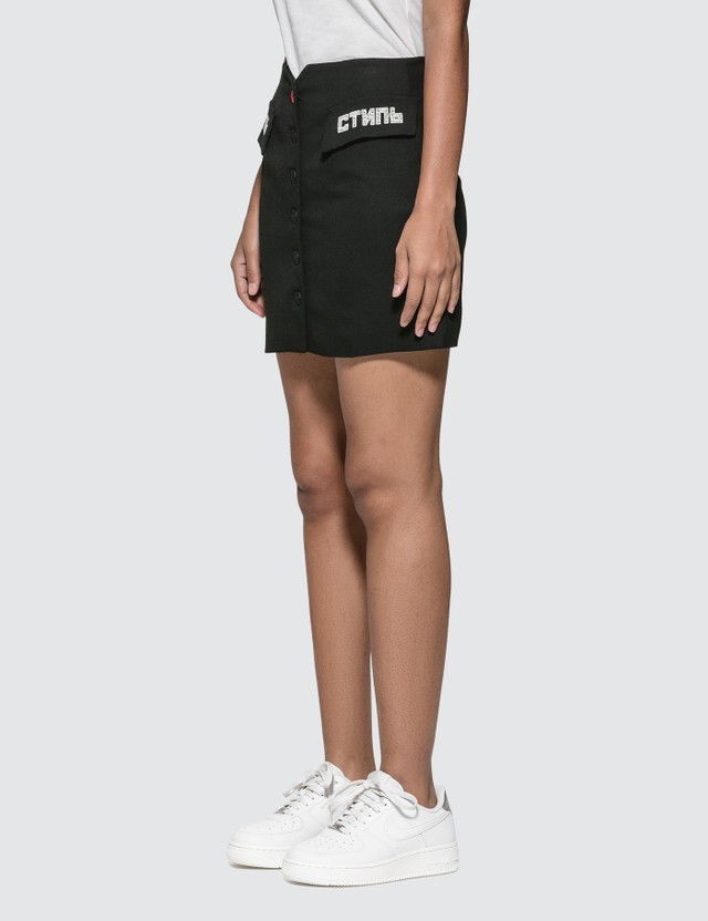 Heron Preston CTNMb Tailored Mini Skirt