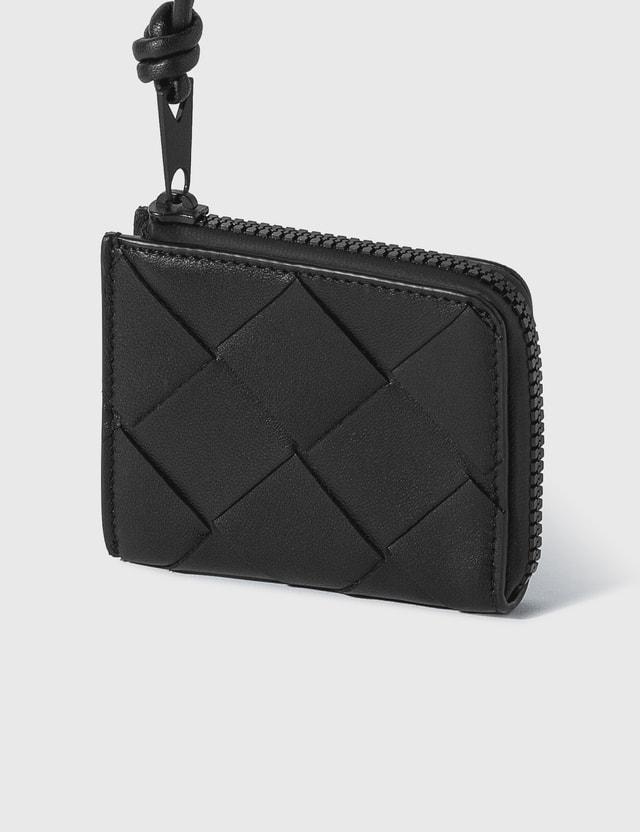 Bottega Veneta Intrecciato Nappa Leather Wallet Black Men