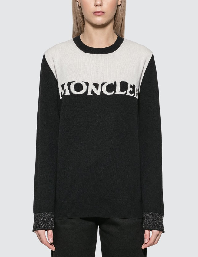 Moncler Knitted Logo Jumper