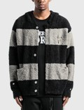 C2H4 Los Angeles C2H4® x Mastermind Japan Knitted Stripe Hooded Sweater Picutre