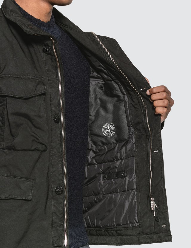 Stone Island Field Jacket with Removable Hood