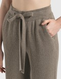 Nanushka Oni Knit Pants Fossile Women