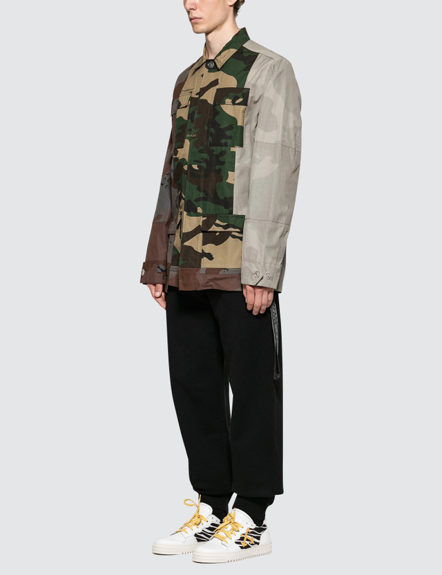 Off-White Reconstr Camo Field Jacket