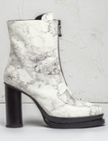 Opening Ceremony Off White Multi Marble Korinne Zip Boots Picture