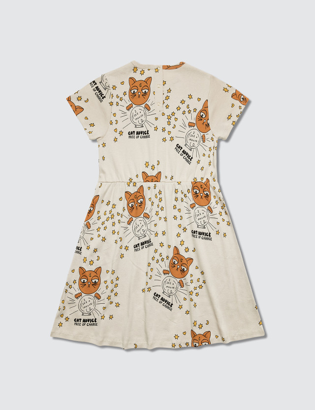 Mini Rodini Cat Advice S/S Dress