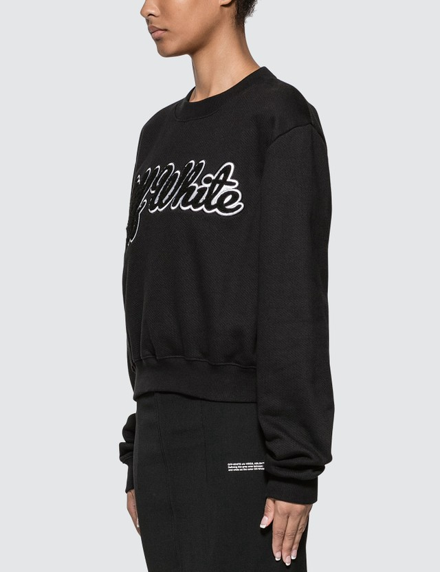 Off-White Textured Logo Sweatshirt