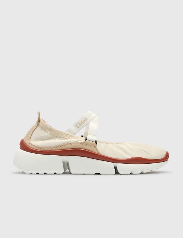 Chloé Sonnie Ballet Sneaker White Women